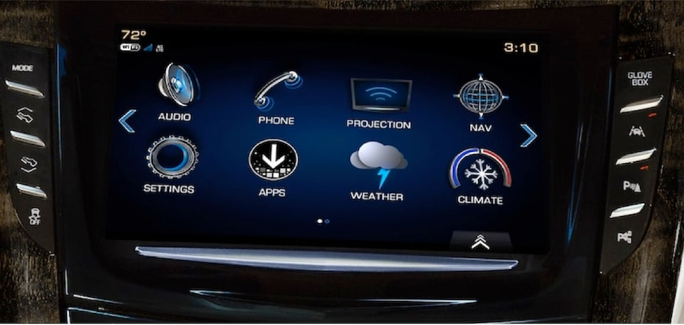 2020 Cadillac Escalade Full-Size SUV Touch Screen Infotainment