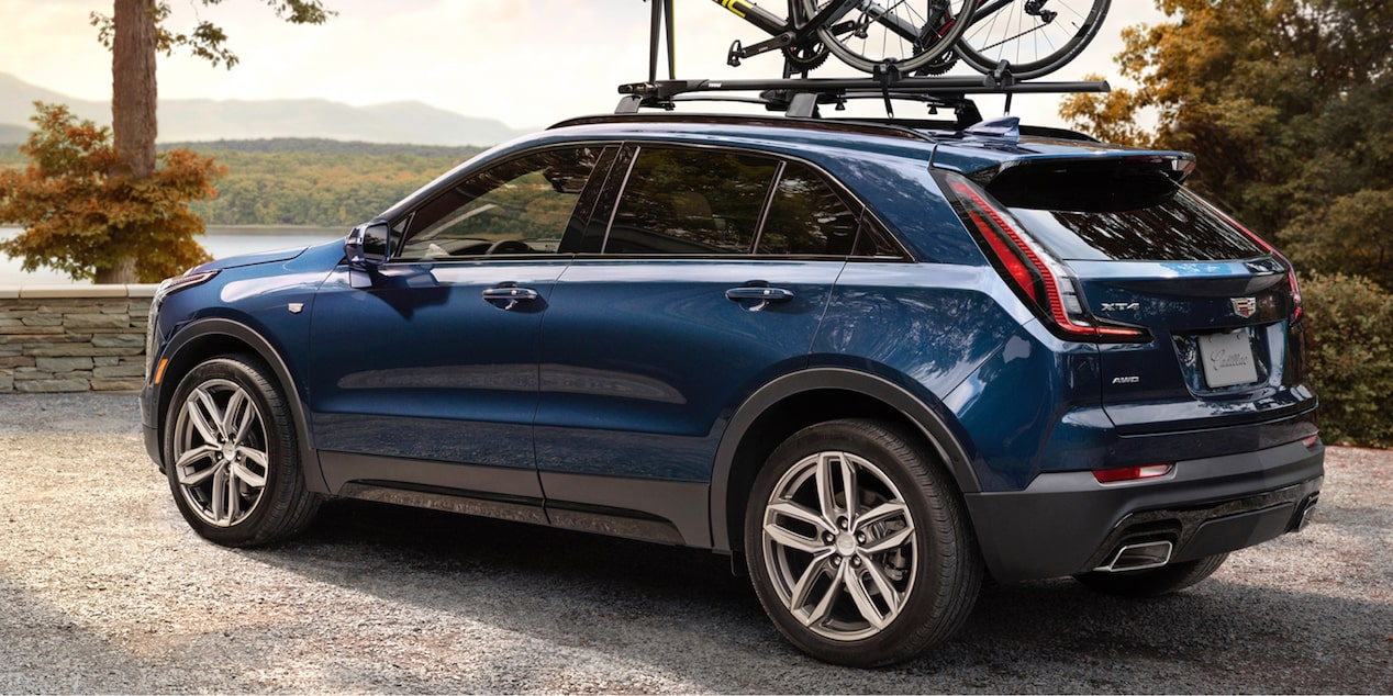 2020 Cadillac XT4 Compact SUV: Roof Rails