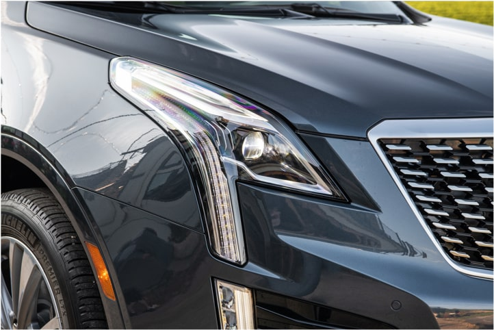 Cadillac XT5 Crossover visionary lighting headlamp