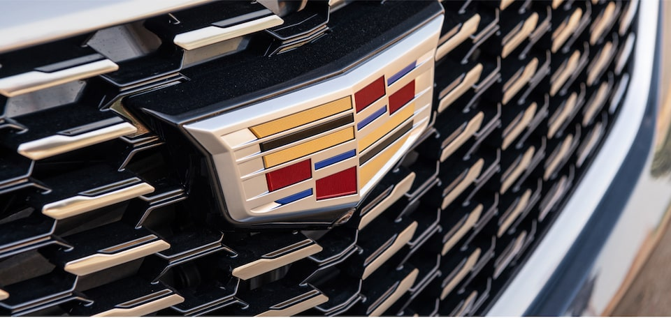Cadillac XT5 Crossover grille