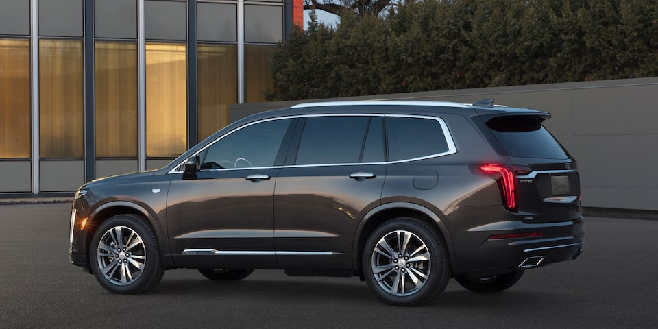 2020 Cadillac XT6 exterior drivers side