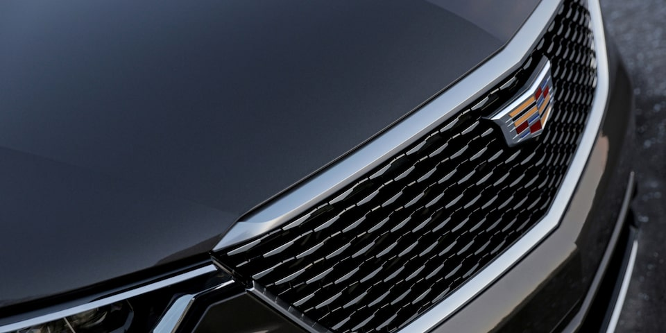 2020 Cadillac XT6 grille detail