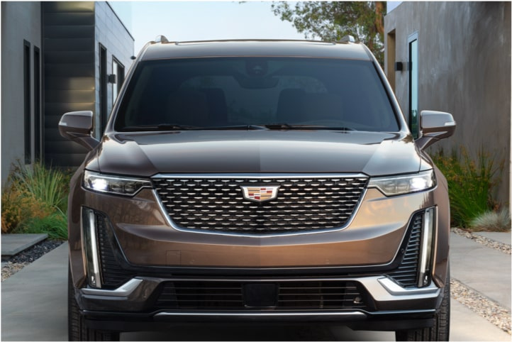 Engine block in the 2020 Cadillac XT6 7 passenger mid-size SUV