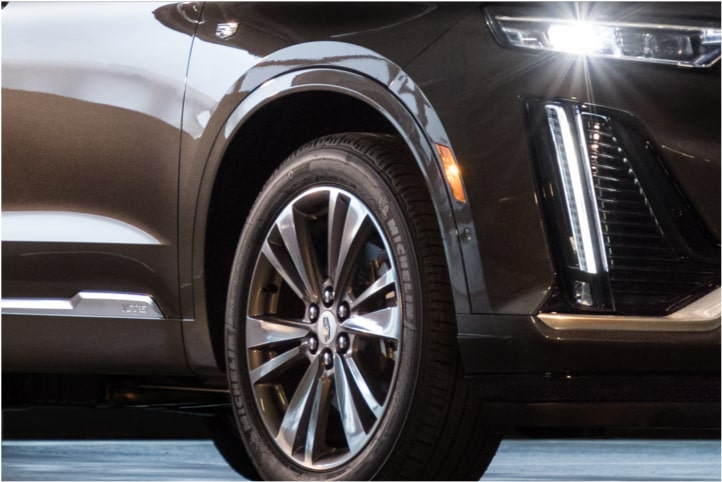 Suspension in the 2020 Cadillac XT6 SUV