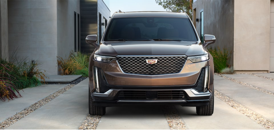 Engine block in the 2020 Cadillac XT6 full-size SUV
