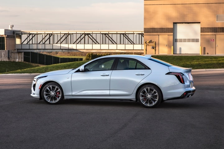 2020 Cadillac CT4 Mid-Size Sedan Vehicle Architecture Detail