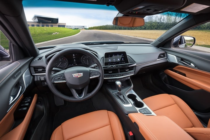 2020 Cadillac CT4 Mid-Size Sedan Distinct Interiors
