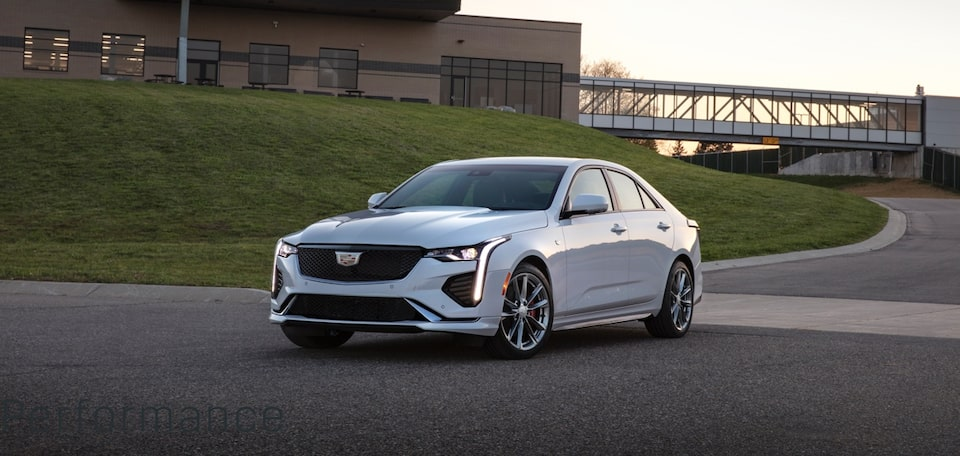 2020 Cadillac CT4 Mid-Size Sedan Distinct Exteriors