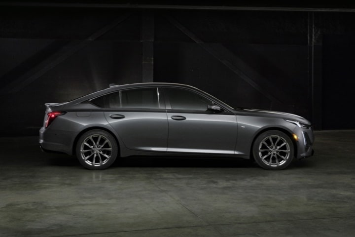 2020 Cadillac CT5 Sedan Passenger-Side Profile View