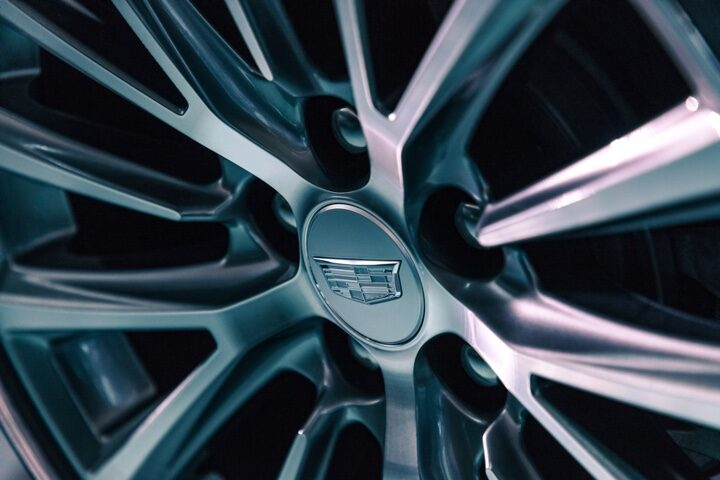 2020 Cadillac CT5 Sedan Alloy Wheel Close-Up View