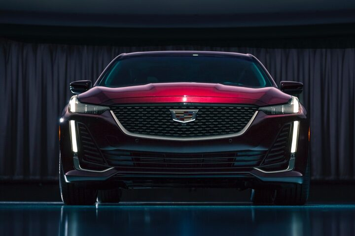 2020 Cadillac CT5 Sedan Front Exterior Wide View