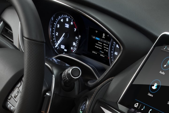 2020 Cadillac CT5 Sedan Dashboard Design