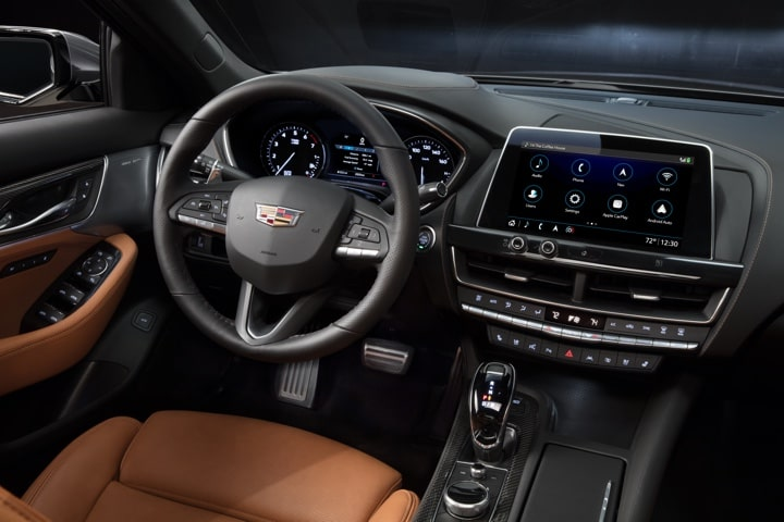2020 Cadillac CT5 Sedan Interior Driver Seat View