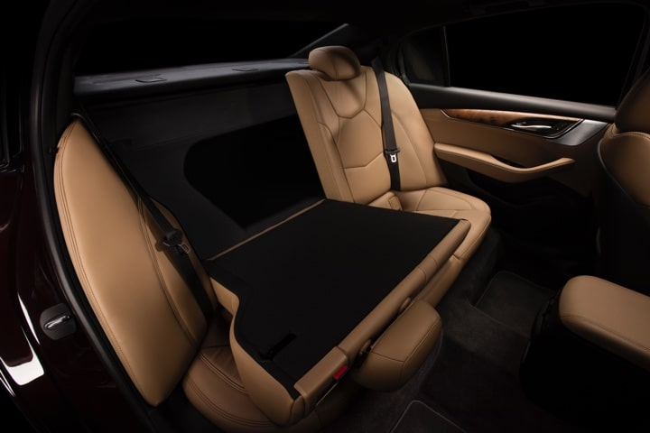 2020 Cadillac CT5 Sedan Rear Seat Folded