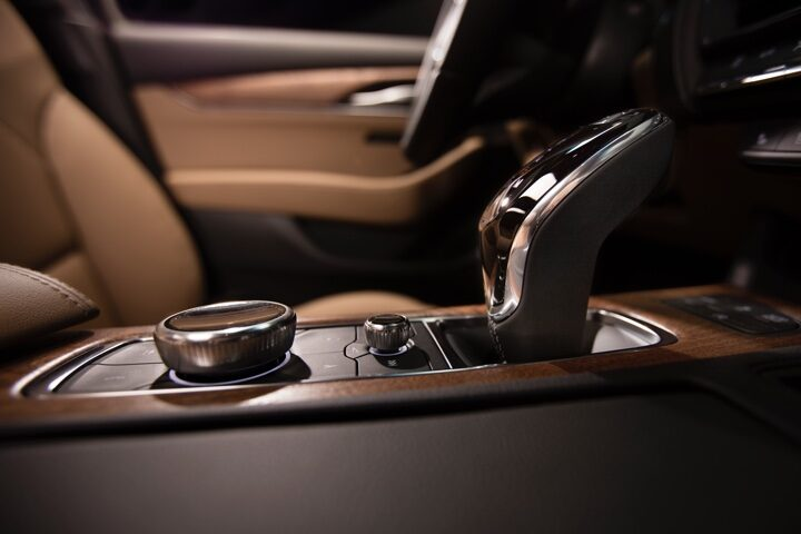 2020 Cadillac CT5 Sedan Electronic Precision Shift Close-Up