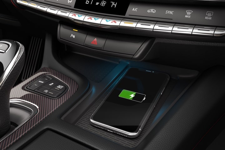 2020 Cadillac CT5 Sedan Wireless Charging