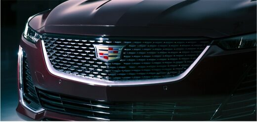 2020 Cadillac CT5 Sedan Front Grille Exterior View