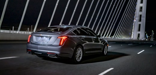 2020 Cadillac CT5 Sedan: Performance Stance Rear View