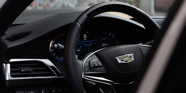 2020 Cadillac CT6 Sedan: Steering Wheel