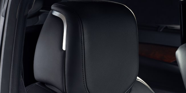 2020 Cadillac CT6 Sedan: Head Rest Close Up