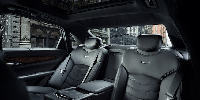 2020 Cadillac CT6 Sedan: Rear Seats