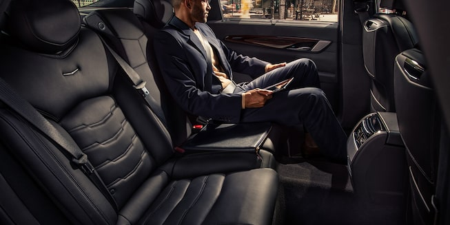 2020 Cadillac CT6 Sedan: Passenger in Back Seat