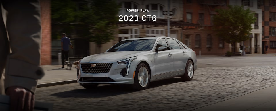 Power. Play. 2020 CT6 Sedan