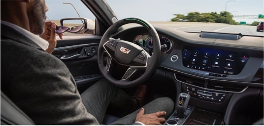 2020 Cadillac CT6 Sedan: Steering Wheel with Super Cruise