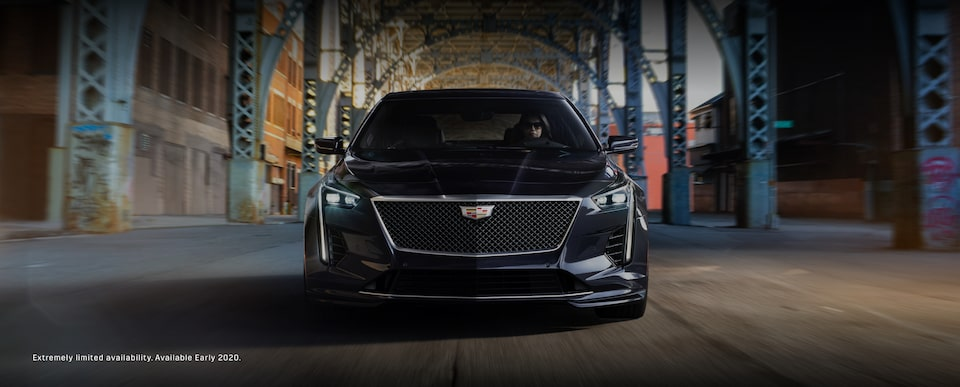 2020 Cadillac CT6-V Sport Sedan Front Grille Exterior