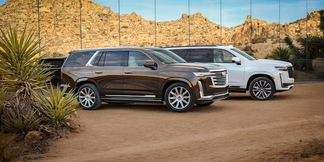 2021 Escalade Exterior Photo - Side Profile