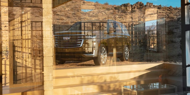 2021 Escalade Exterior Photo - Reflection