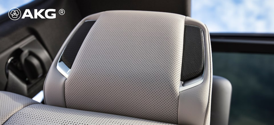 2021 Escalade AKG Headrest Sound System
