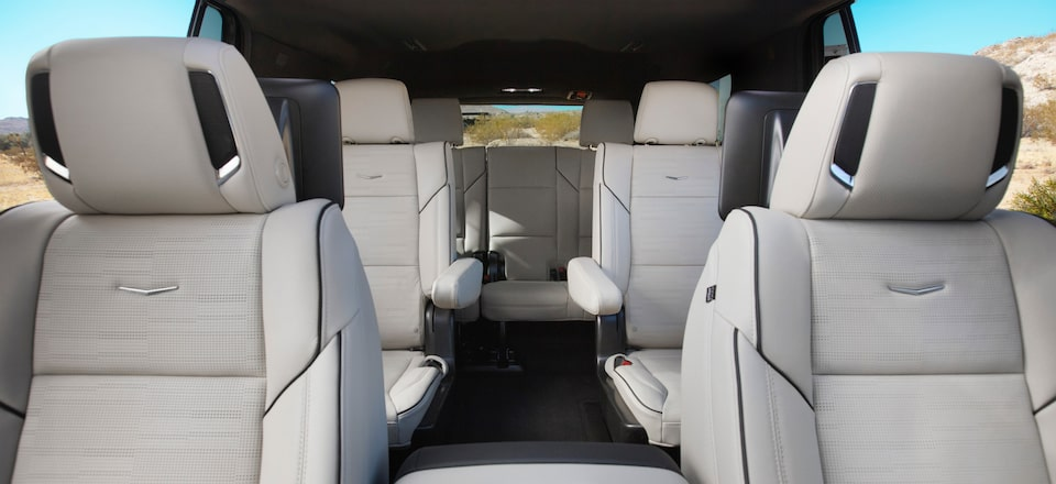 2021 Escalade Interior Three Row Seating