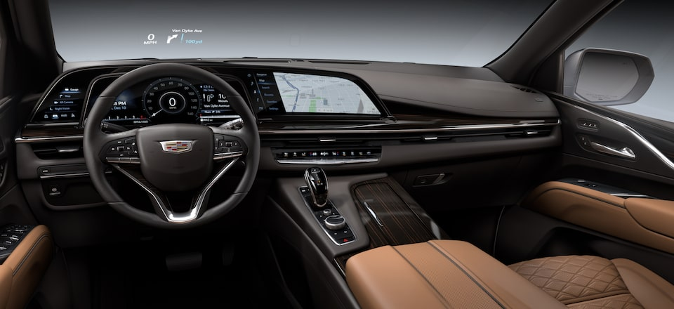 2021 Escalade Dashboard: Heads Up Display