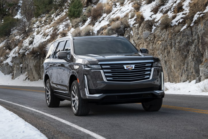 2021 Escalade Front Angle View