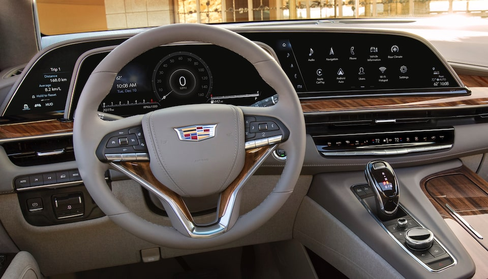 2021 Escalade Interior LED Dashboard