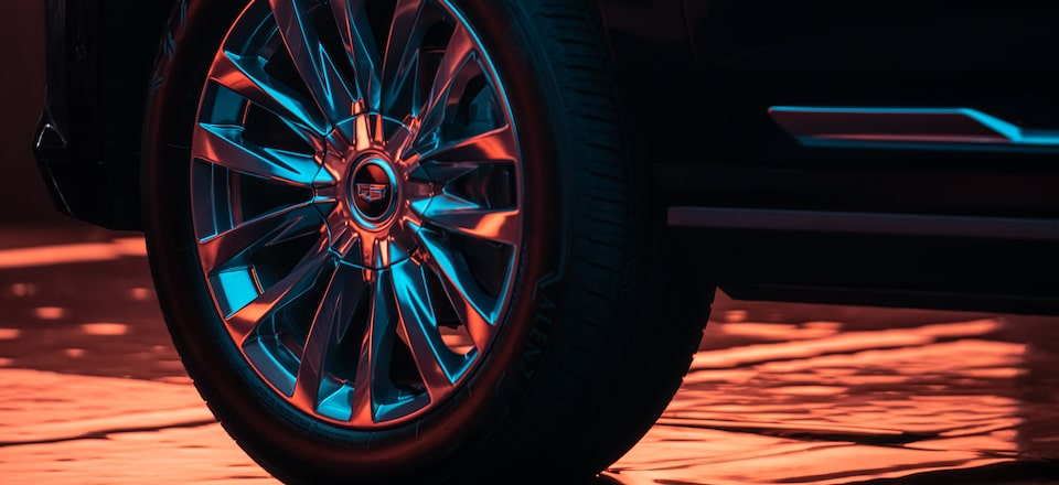 2021 Escalade: 22 inch Wheels