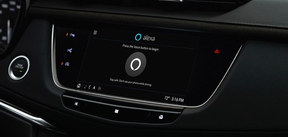 2021 Cadillac XT6 User Experience - Amazon Alexa