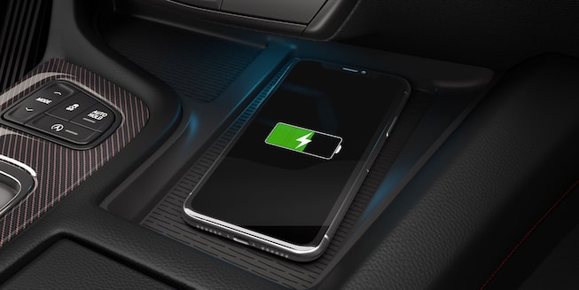 2021 Cadillac CT5 Interior Gallery: Wireless Charging Pad