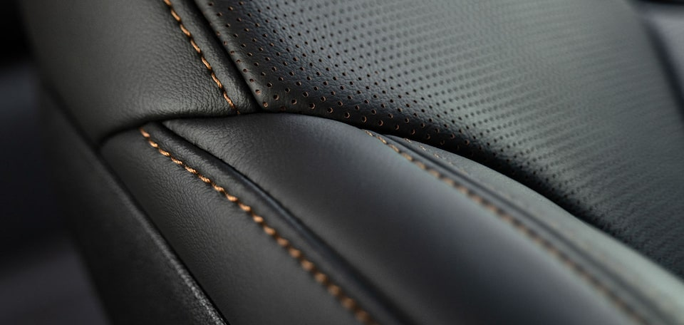2021 Cadillac CT5: Black Leather Seats with Stitching