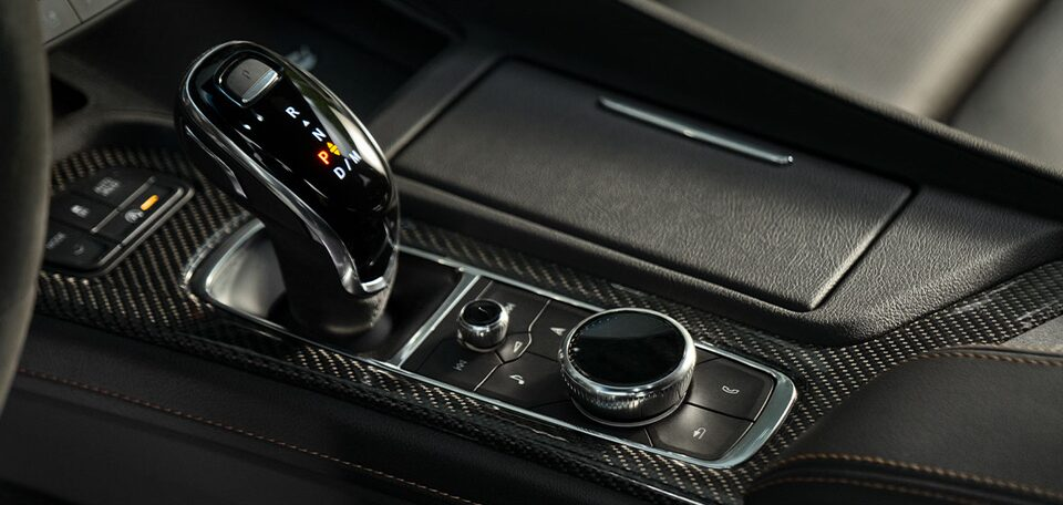 2021 Cadillac CT5: Toggle and Auto Gear Stick