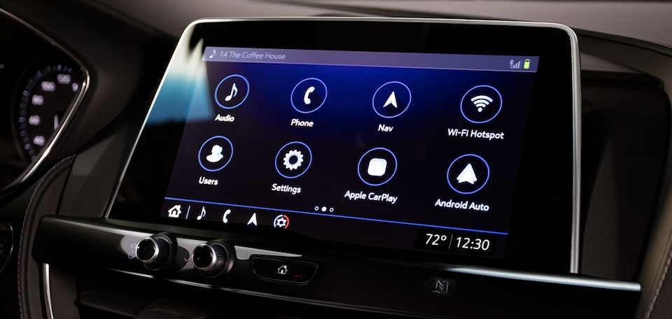 2021 Cadillac CT5: Infotainment Screen