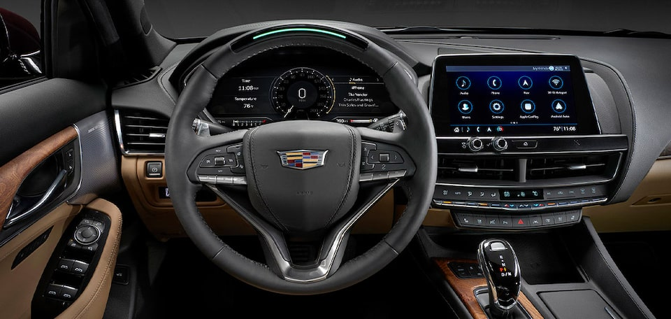 2021 Cadillac CT5: Super Cruise Steering Wheel