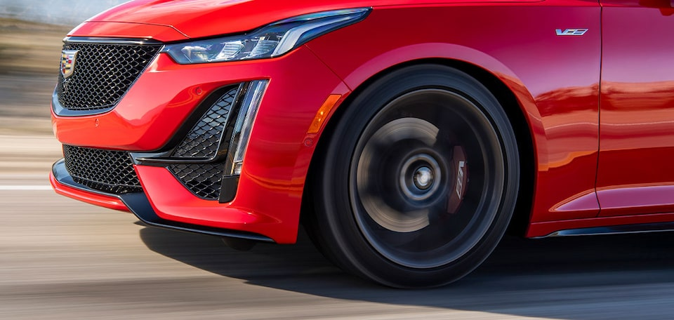 2021 Cadillac CT5-V: Wheel Close Up