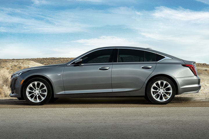 2021 Cadillac CT5: Side Profile