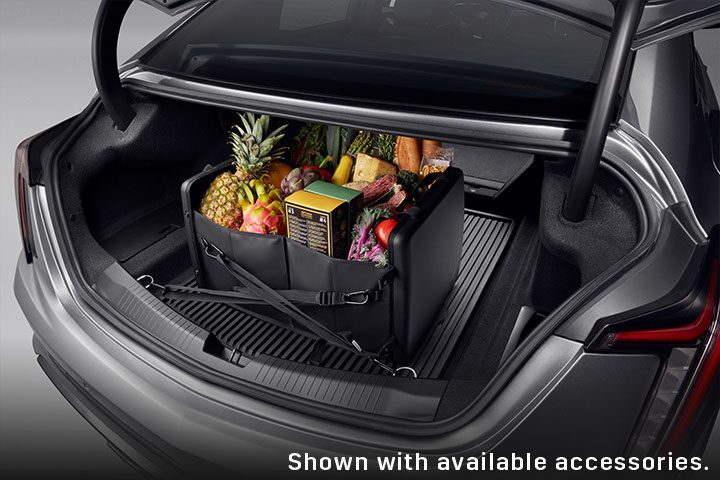2021 Cadillac CT5: Trunk Cargo Space