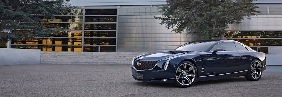 Cadillac Concept Vehicles - Elmiraj: A Grand Coupe Concept
