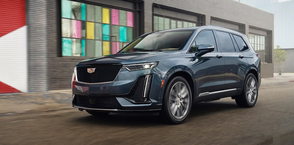 Cadillac XT6 7 Passenger Full-Size SUV Front Exterior View