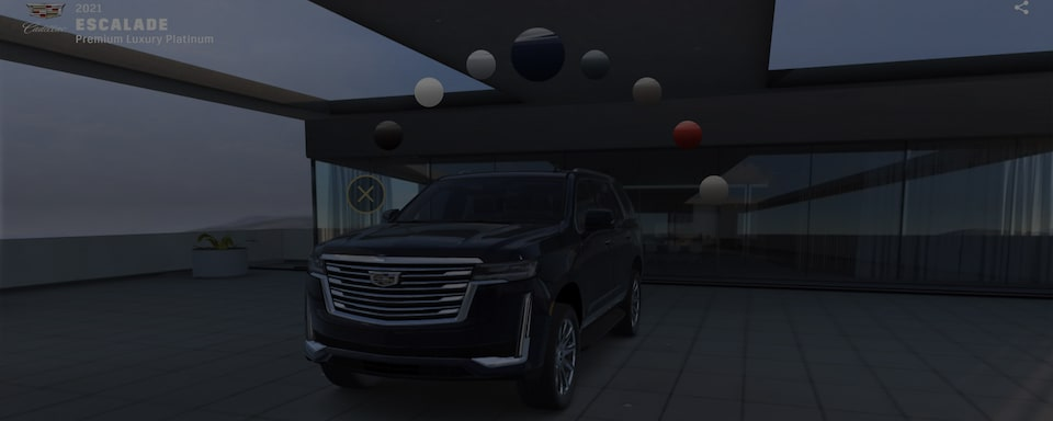 Interact with 2021 Escalade Luxury Full-Size SUV