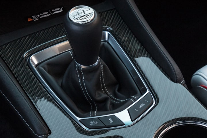CT4-V Blackwing Vehicle Interior Gear Shift
